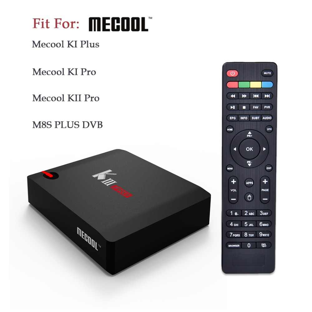 Afstandsbediening Vervanging Controller Vervanging Voor Mecool Smart TV KI Plus KI Pro KII Pro M8S PLUS DVB Android TV box Set Top