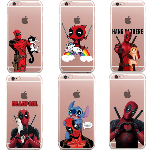 coque iphone 6 deadpool