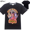 Baby boy clothes cartoon children t shirts five nights at freddy's clothing camiseta kids clothes boys t-shirt 5 freddys tops