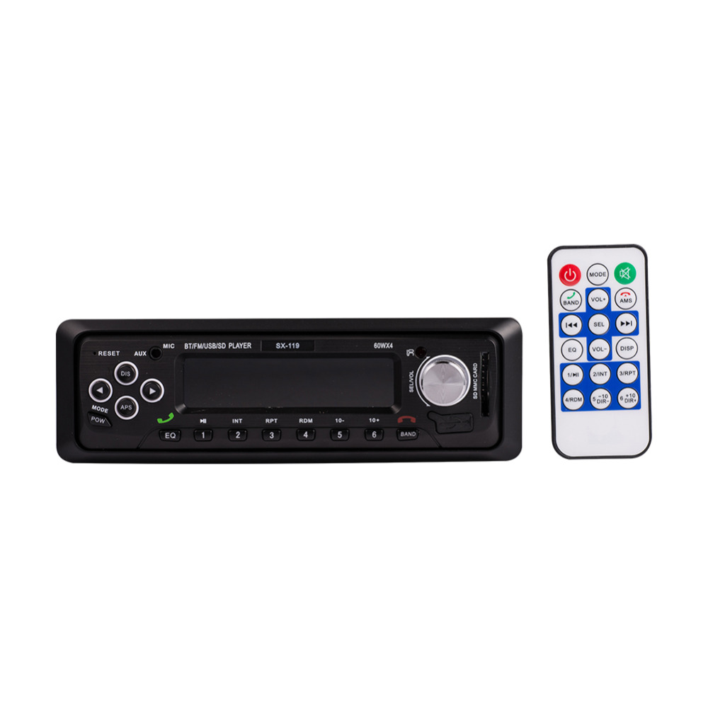 12V Car MP3 Player Bluetooth WMA Audio Music Players Styling Automobile Audio Stereo