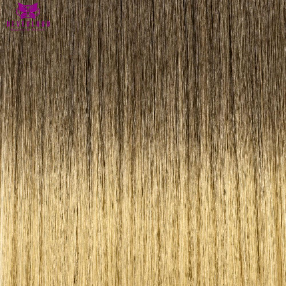 """неверлэнд 24 """"60 см 5 зажимы прямо ломбер синтетический накладные парики клип в наращивание волос одна деталь для женщин девочек"""