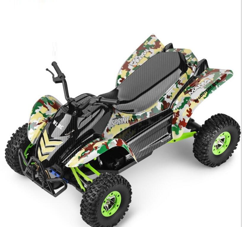 Electric RC desert motorcycle 12428 Upgrade 4WD 1/12 2.4G 50km/H High Speed Monster Truck Radio Control RC Buggy Off-Road car new 7 2v 16v 320a high voltage esc brushed speed controller rc car truck buggy boat hot selling
