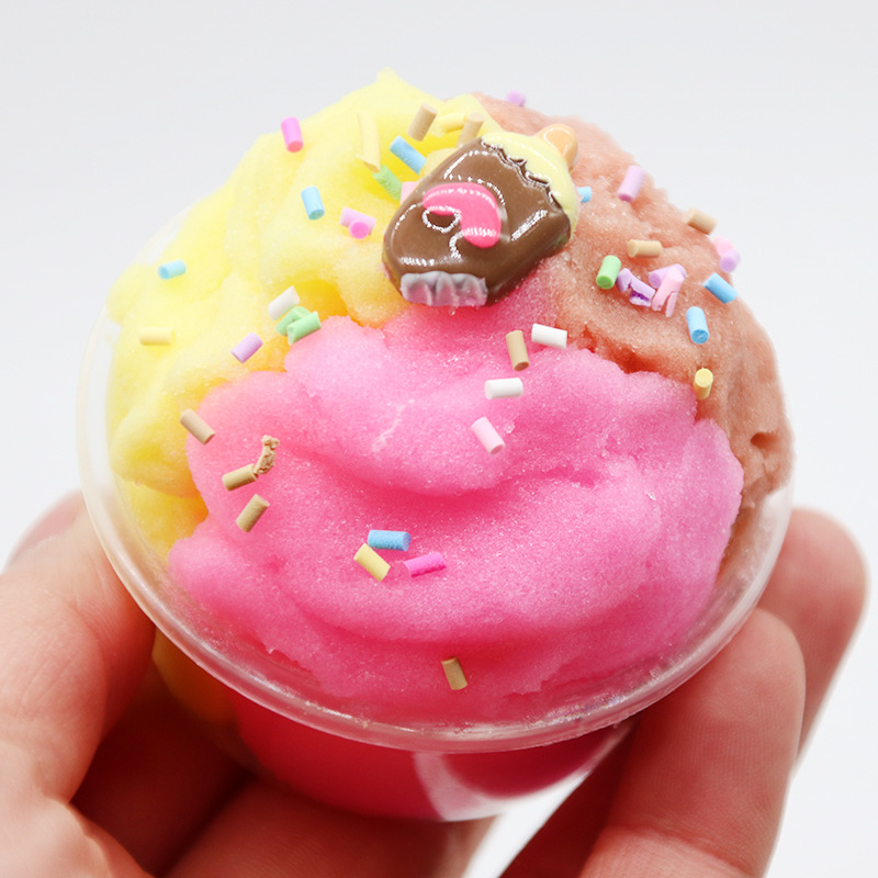 Slime Toys Popular Chocolate Modeling Clay Fluffy Slime Learning Education Toy For Children Release Stress Polymer Clay in Modeling Clay from Toys Hobbies