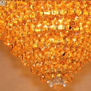 Image 3 - European gold golden circular living room lamp bedroom lamp hall lights corridor lights Ceiling Lights Lmy 0147
