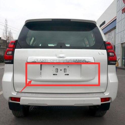 OE ABS сзади номерные знаки для мотоциклов рамки плиты Обложка с живописью Toyota Land Cruiser Prado LC150 интимные аксессуары 2018 2019