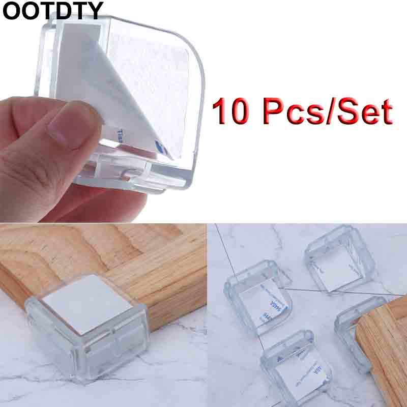 Safety Corner Baby Protection Cupboard Table Desk Protector Guard Edge Pads Transparent Right-angle Child Protector Toddler