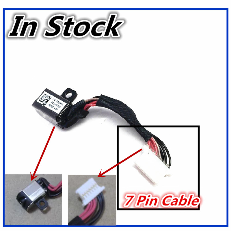 New Laptop DC Power Jack Cable Charging Connector Port Wire Cord For Dell Inspiron 5370 Vostro 5471 P87G P88G storage cable