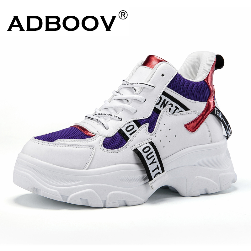 Detail Feedback Questions about ADBOOV New Fall Winter Fashion Women Shoes  PU Leather Platform Sneakers Women Ladies Trainers Casual Shoes Scarpe  Donna on ... 327cc799c9bc
