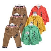 Anlencool 2019 baby boys set children clothing new Korean boy child three piece suit baby boy clothing Fashion sportswear