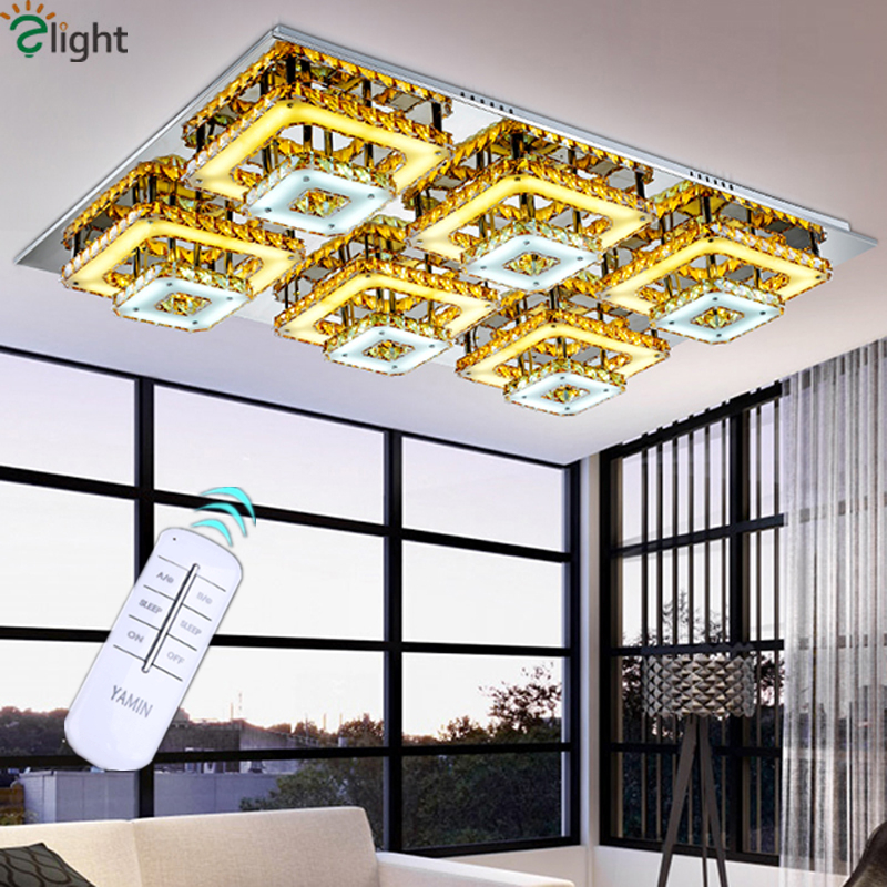 Luxury Remote Control Dimmable Led Double Acrylic Rows Chandelier Art Deco Acrylic Lustre De Cristal ChandelierLuxury Remote Control Dimmable Led Double Acrylic Rows Chandelier Art Deco Acrylic Lustre De Cristal Chandelier