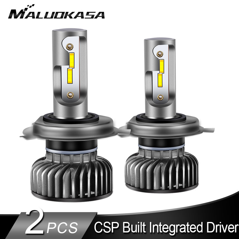 2PCS <font><b>H7</b></font> <font><b>LED</b></font> Headlight bulbs Mini H4 <font><b>LED</b></font> Bulb CSP Chip 8000LM/PCS <font><b>LED</b></font> H11 H3 H1 H8 HB3 HB4 Fog <font><b>Lights</b></font> <font><b>LED</b></font> Car <font><b>Light</b></font> 12V <font><b>Head</b></font> <font><b>Lamp</b></font> image