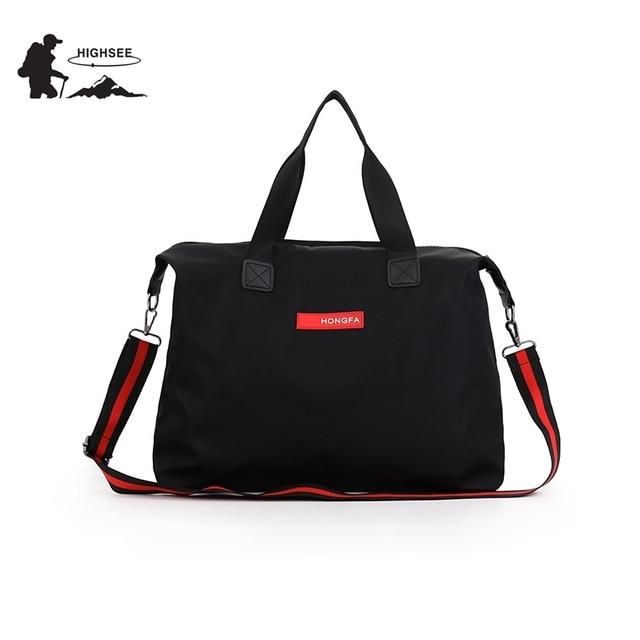 HIGHSEE Travel Sports Bag Men Sac De Sport Training Shoulder Bag Sport Bag For Women Fitness Waterproof Gym Yoga Handbag