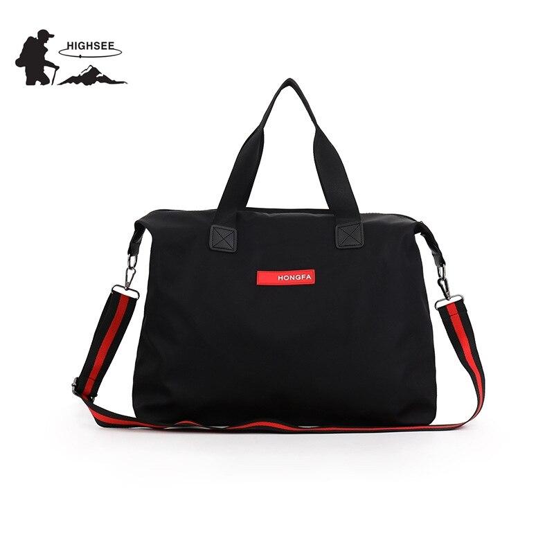 HIGHSEE Travel Sports Bag Men Sac De Sport Training Shoulder Bag