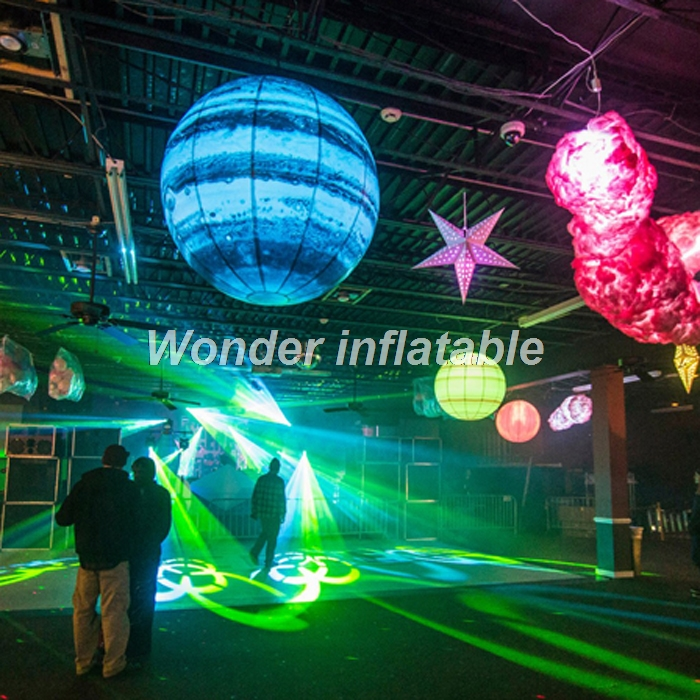LED φωτισμός 2m γιγαντιαίο φουσκωτό - Προϊόντα για τις διακοπές και τα κόμματα - Φωτογραφία 3
