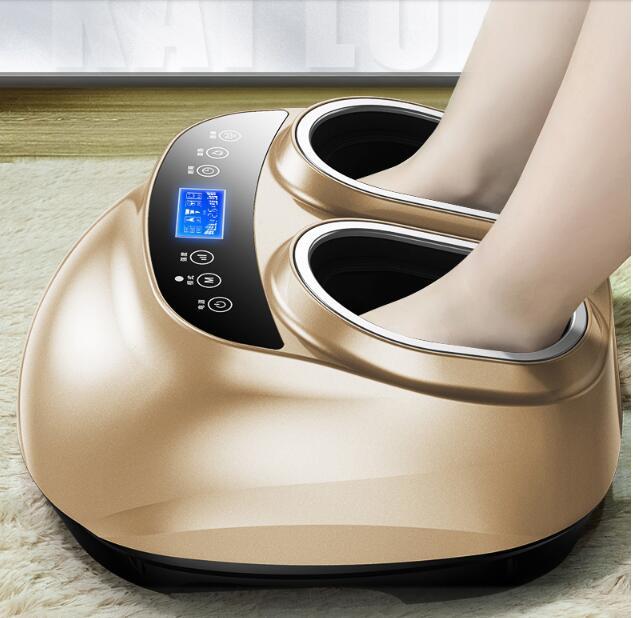Masseur de pieds Shiatsu électrique pétrissage pression d'air Massage des pieds et thérapie de chauffage pour les soins de santé pieds Spa Relaxation