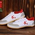 Kung fu wu shu Canvas Shoe, Rubber Sole Fluorine Rubber Oxford Bottom Taiji Practice Shoe A Martial Art  Training Shoe