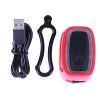 Bike Bicycle Light 16 LED Bike Bicycle Rear Tail Light Flashing USB Rechargeable Waterproof Safety Warning