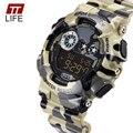 TTlife Marca Reloj de Los Hombres A Prueba de agua Deportes Running Relojes Militares hombres de Lujo de Cuarzo Analógico Digital Reloj de La Manera 2016 Nuevo