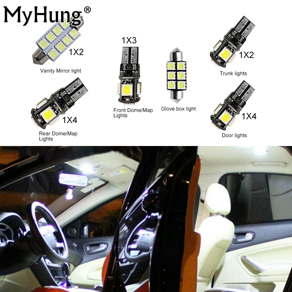 Car Led Interior Light For BMW X3 2015 2016 Convenience