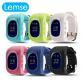 Q50 Smart kid safe GPS Tracker Watch OLED SOS Emergency Anti Lost GSM Call Tracker Smart Phone for Android iOS Child kids gift
