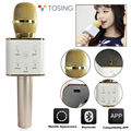 Tosing Q7 Smartphone Wireless Karaoke Microphone Portable Wireless Handheld Karaoke Player Bluetooth Singing Speaker Singer