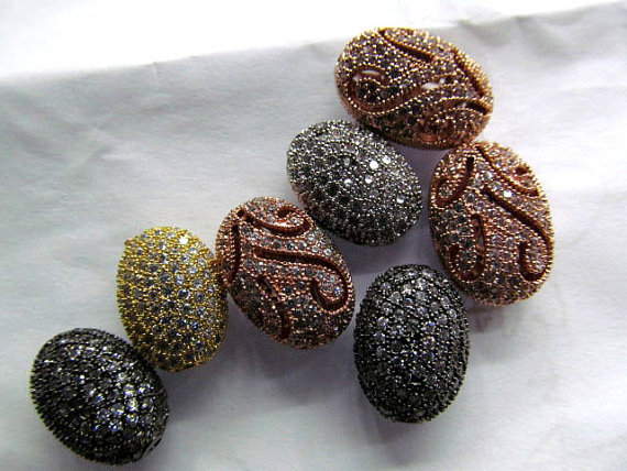 AAA grade 10x14 12x16mm 12pcs rhinestone connector pave metal spacer &cubic zirconia crystal rice egg oval barrel jewelry beadsAAA grade 10x14 12x16mm 12pcs rhinestone connector pave metal spacer &cubic zirconia crystal rice egg oval barrel jewelry beads