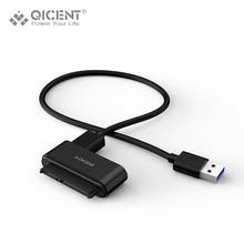 QICENT USB 3.0 à 2.5 «SATA III Disque Dur Adaptateur Câble-SATA à USB 3.0 Convertisseur pour SSD/HDD-Disque Dur Adaptateur câble