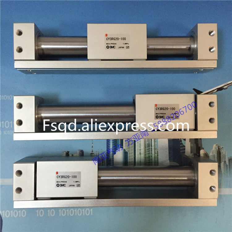 CY3RG20-100 CY3RG20-200 CY3RG20-300 CY3RG20-400 CY3RG20-500 magnetically coupled rodless cylinder direct mount type CY3R seriesCY3RG20-100 CY3RG20-200 CY3RG20-300 CY3RG20-400 CY3RG20-500 magnetically coupled rodless cylinder direct mount type CY3R series