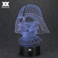 Star Wars Anakin Skywalker 3D Lamp Darth Vader LED Remote Control Night Light USB Desktop Decorative Table Lamp HUI YUAN Brand