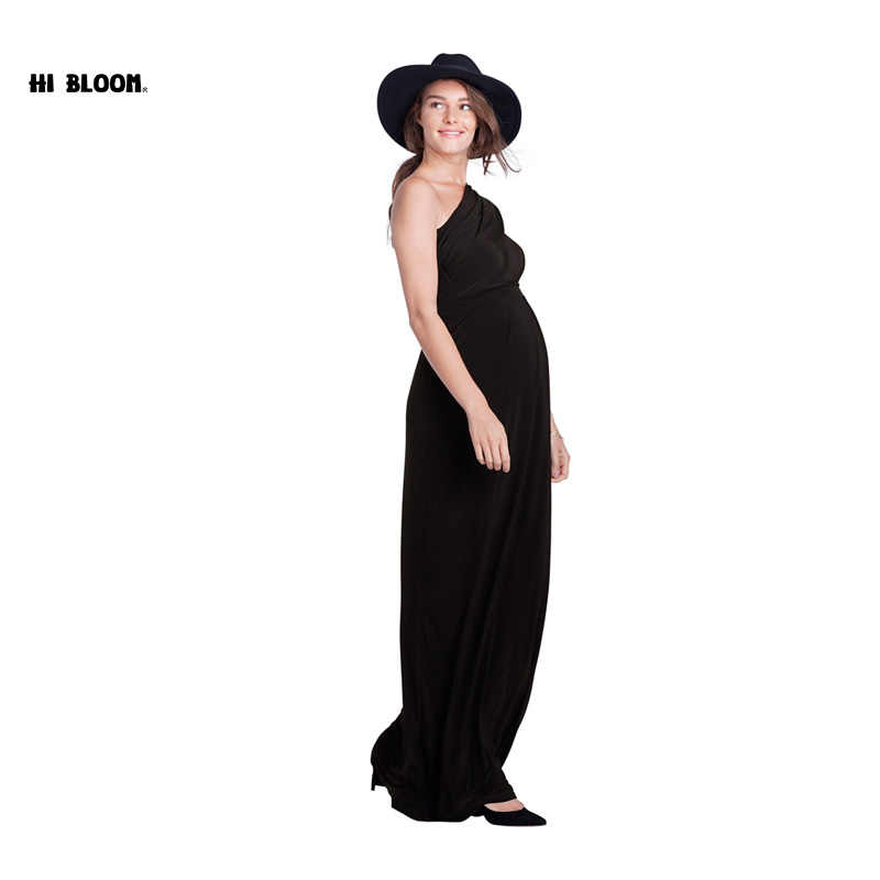 99ff8d924 ... Long Maternity Maxi Dresses Maternity Clothes Elegant Evening Dress For  Pregnant Women Pregnancy Gown Office Lady ...