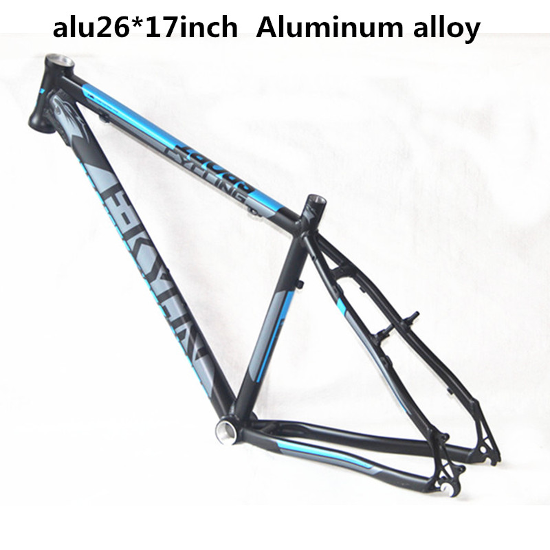 Best prices MTB bicycle frame quality aluminum alloy 26 * 17 inch light weight Tapered headset tube mountain bike frame aluminum alloy mountain bike frame bicycle frame mtb 26 15 18inch ultra lightweight frame contains headset