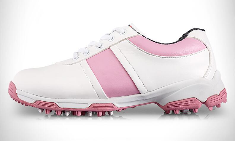 2017 PGM женские Гольф обувь 3D дышащий волокна кожи уличная спортивная обувь противоскользящей шипы природа твердой резины носком, бесплатная ...