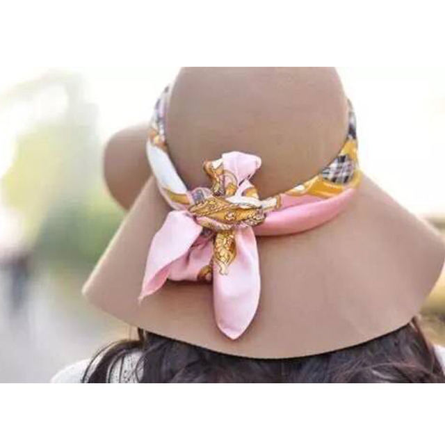 2017 New Straw Hat Big Bow Fashion Summer Hats for Women Chapeau Paille Wide Brim Floppy Beach Sun Cap Foldable Summer Sunhat