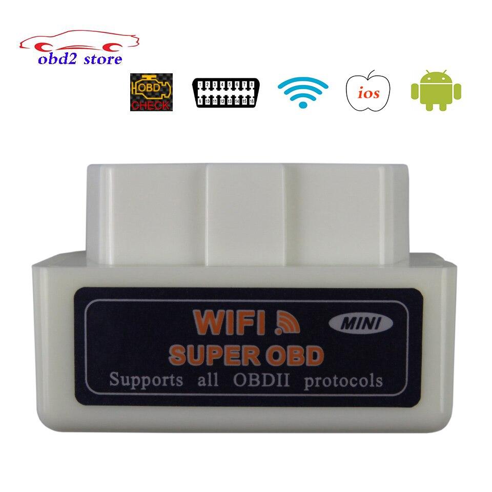 Super ELM327 WIFI OBD2 V1.5 ULME 327 V 1,5 Auto Diagnose Scanner Für IOS Android Ulme-327 WI-FI OBDII OBD 2 Auto Diagnose Werkzeug