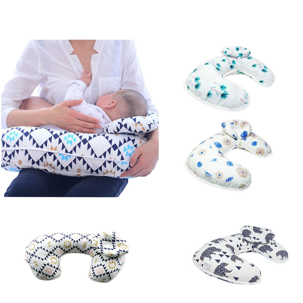 Multifunctional Pregnant Women Pillow Cotton Baby Pillow Child Cushion Head Protection Feeder Nursing Pillows Infant Decoration baby nursing pillows soft infant baby safe u shaped pillow head neck support protection newbron cotton cushion 3pcs set