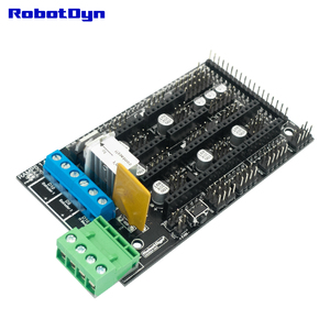 Image 2 - 3D drukarki i zestaw podstawowy CNC. MEGA 2560 R3 + RAMPS 1.4 + Adapter + kabel micro usb (50 cm) kompatybilny z projektami Arduino i RepRap