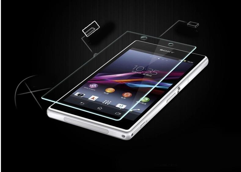 För Xperia Z1 härdat glas skärmskyddsfilm för SONY Xperia Z1 L39H - Reservdelar och tillbehör för mobiltelefoner - Foto 3
