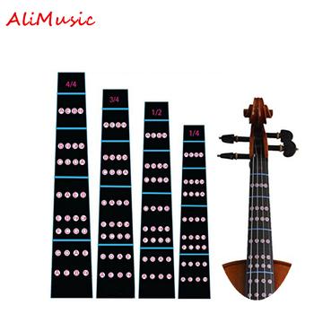Podstrunnica naklejka 4 4 3 4 1 2 1 4 skrzypce podstrunnica uwaga etykiety palcówka wykresu praktyczny przewodnik dla początkujących skrzypce części akcesoria tanie i dobre opinie CN (pochodzenie) Skrzypce użytkowania Violin Fingerboard sticker 4 4 3 4 1 2 1 4 1 8