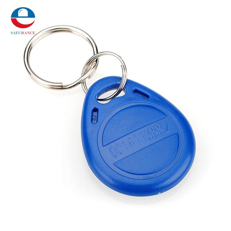 Hot Sale 1pcs RFID 125KHz Proximity ID Token Tag Key Keyfobs Chain Blue TK4100 Free Shipping