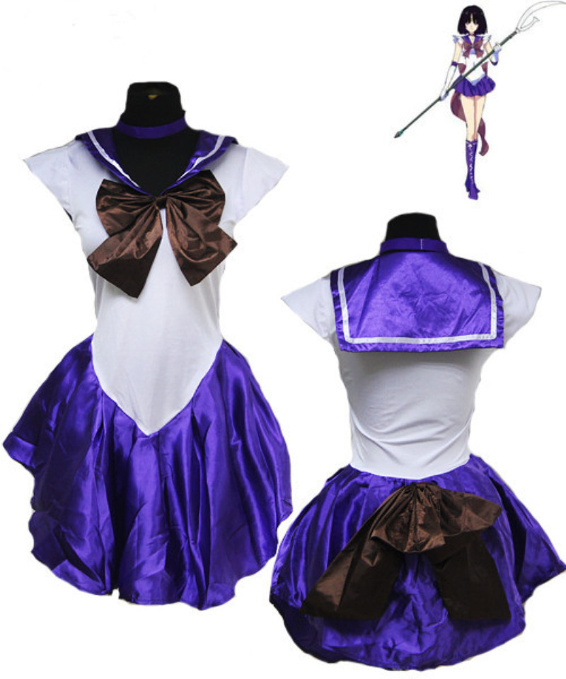 New Anime Pretty Soldier Sailor Moon Cosplay Costume ...