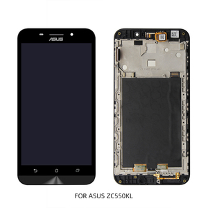 Image 4 - ASUS Zenfone ZC520TL ZC550KL ZC554KL LCD Display Touch Screen Digitizer With Frame Panel Assembly