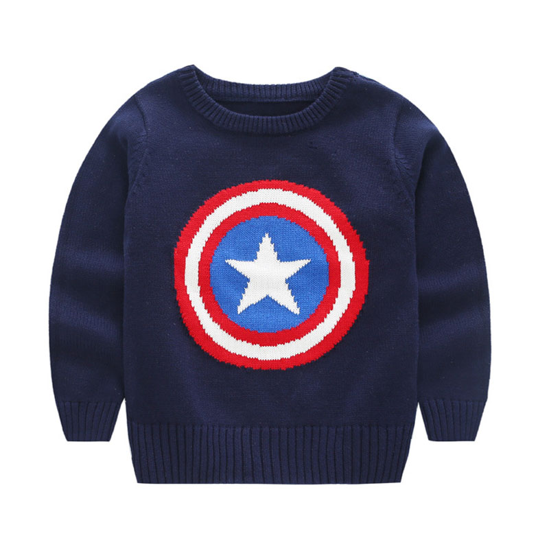 Baby Boy/Girl Clothes Autumn And Winter The New Sweater Captain ...