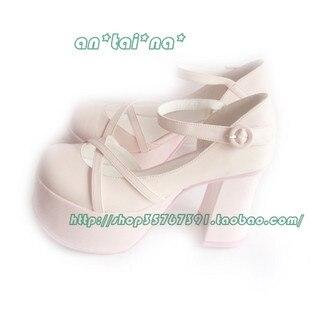 Princess sweet lolita gothic lolita shoes custom  rich lolita cos punk high-heeled shoes 9110 pink queen аксессуары для косплея cosplay wig cosplay cos cos