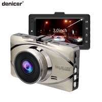 Denicer Car Recorder Metal Dash cam Full HD 1080P Auto Recorder Night Vision 170 Degree DVR Video Registrator G sensor Dashcam