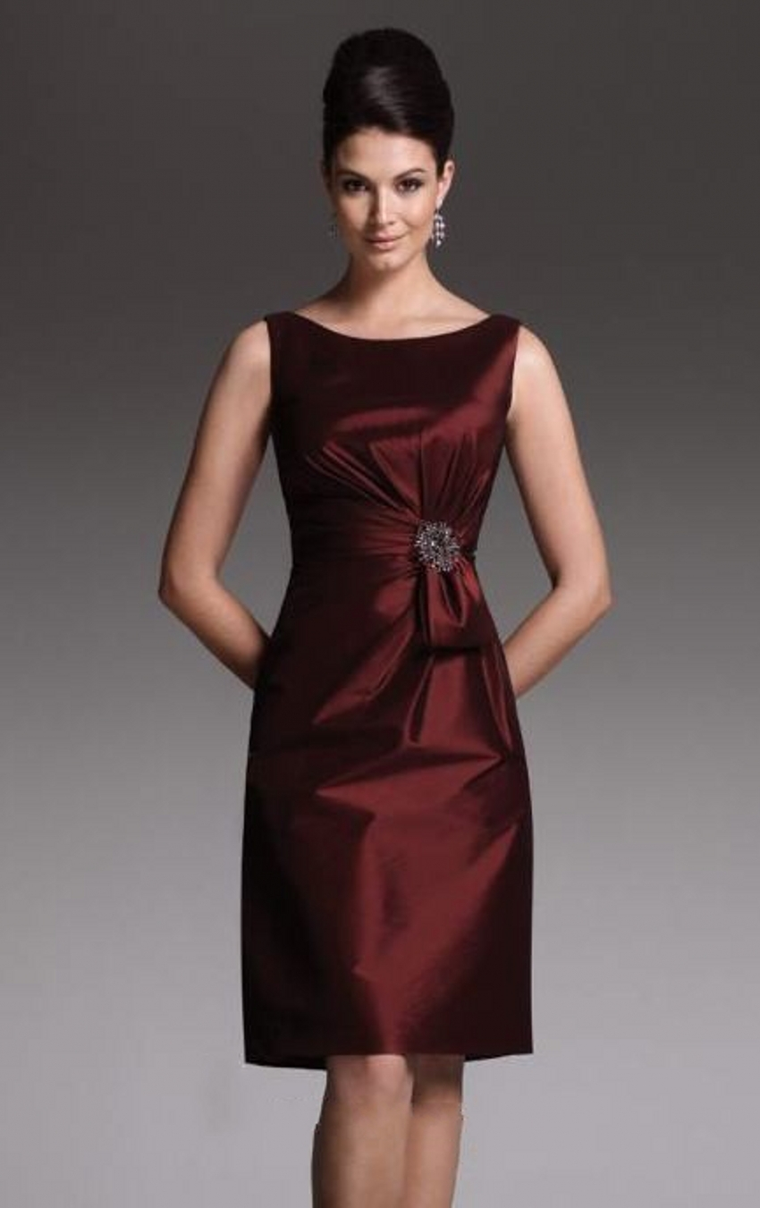 elegant cheap satin sheath plus size mother of the groom