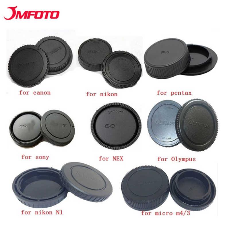 JMFOTO กล้องด้านหลังเลนส์ป้องกันป้องกันสำหรับ Canon Eos Nikon N1 Sony Nex Pentax PK Olympus micro M4/3 Panasonic Mount
