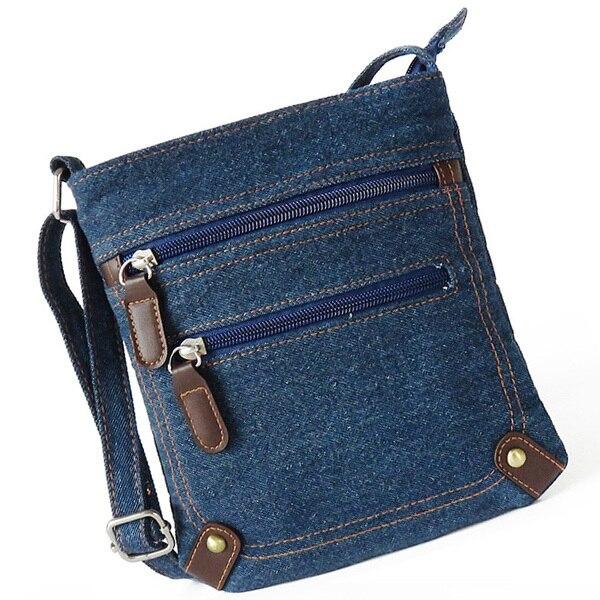 women denim messenger bags women mini small shoulder bag vintage rivet satchels ladies crossbody sling bag bags 2