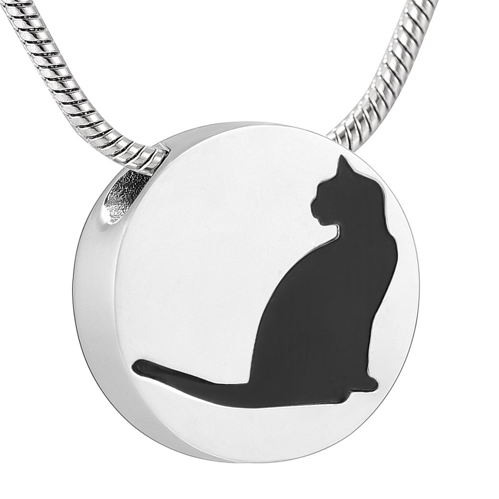 Necklaces & Pendants Buy Cheap Klh0125 316l Stainless Steel Love And Cute Cat Locket Aromatherapy Essential Oil Diffuser Necklace Jewelry With 12 Felt Pads