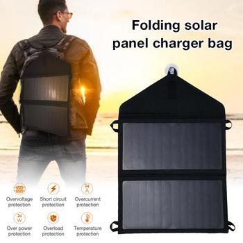 Portable 15W5V Output Folding Solar Bag Panel