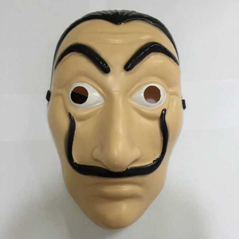 Dali Mask Paper House La Casa De Papel Cosplay Decoration Masquerade Halloween Funny Tools Plastic Christmas Halloween children'